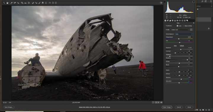 iceland plane wreckage